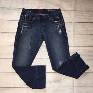 Cropped Ankle Jeans Blue Cult size 26